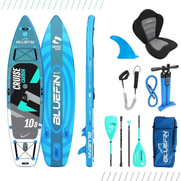 bluefin sup board set cruise carbon 10.8