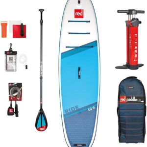 Red Paddle co SUP board set ride 10.6