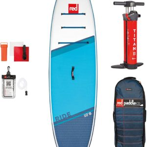 Red Paddle co SUP board set ride 10.8