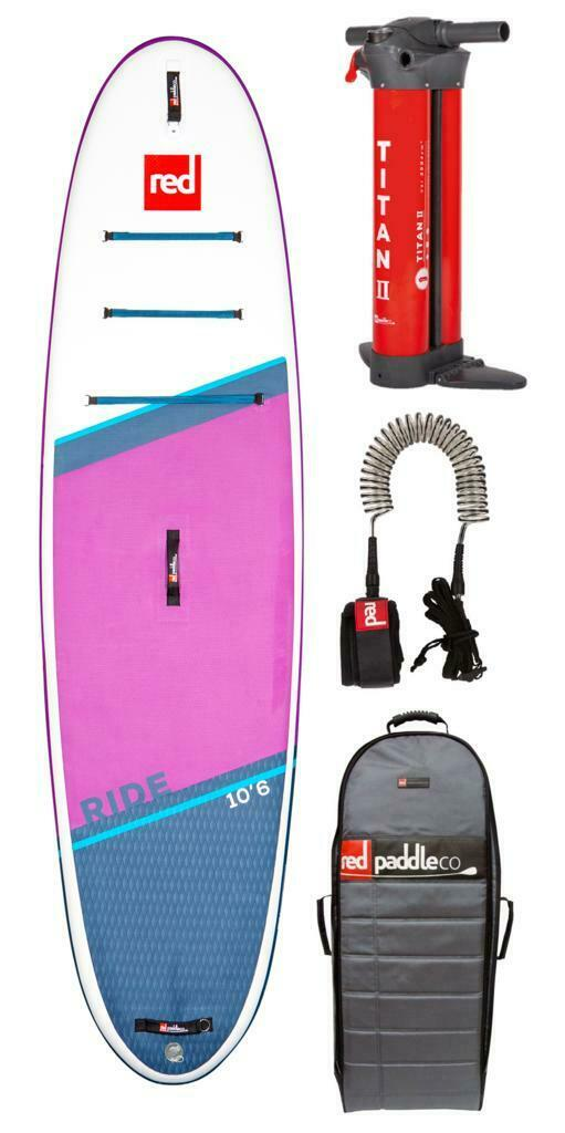 Red Paddle sup board set ride se 10.6