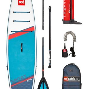 Red Paddle sup board set sport 11