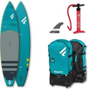 fanatic sup board set ray air premium 12.6